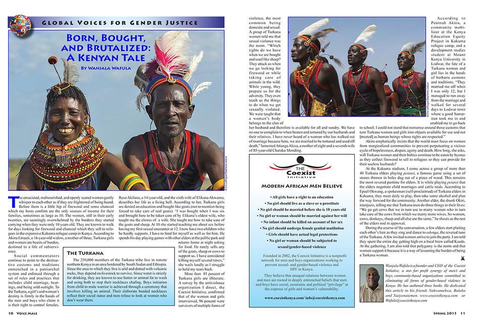Voice Male Magazine