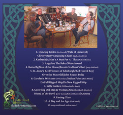 KITCHEN PARTY CD - Back