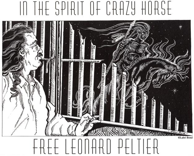 Leonard Peltier Poster