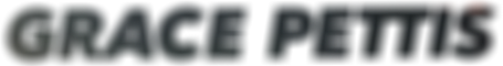 Grace Pettis logo shadow