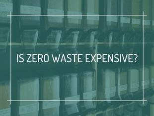 Is Zero Waste Expensive?