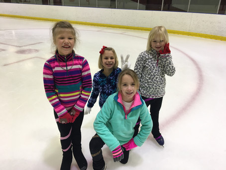 How much practice time do ice skaters need?