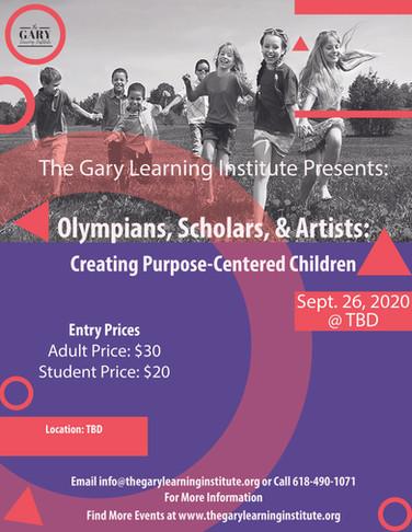 Chosen Olympians, Scholars, & Artist Fly