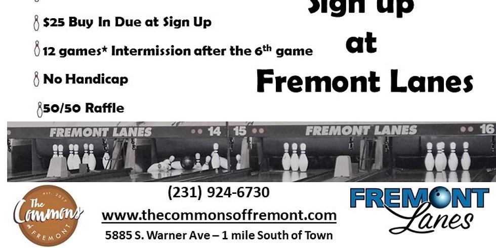 9 Pin No Tap at Fremont Lanes