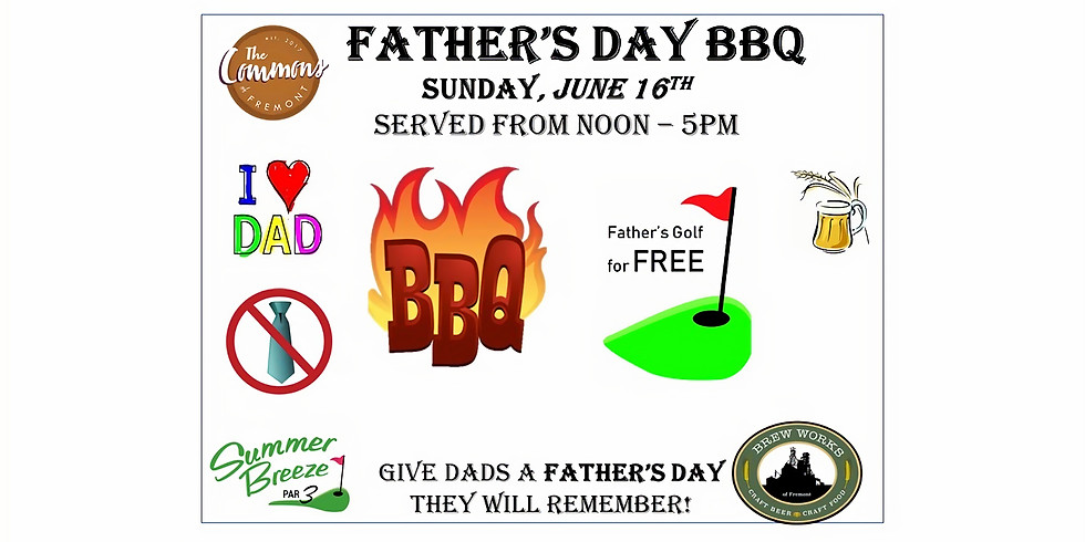 Father's Day BBQ & Golf Special