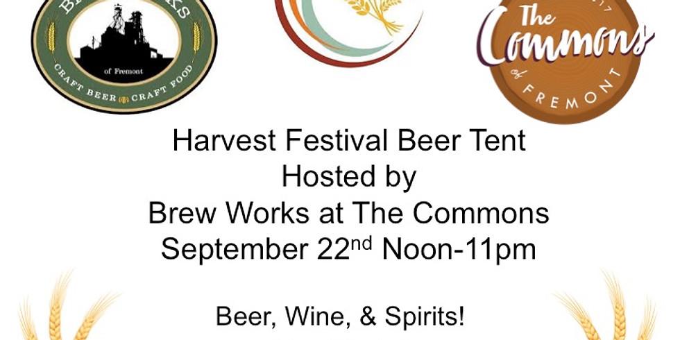Harvest Festical Beer Tent at Brew Works (1)