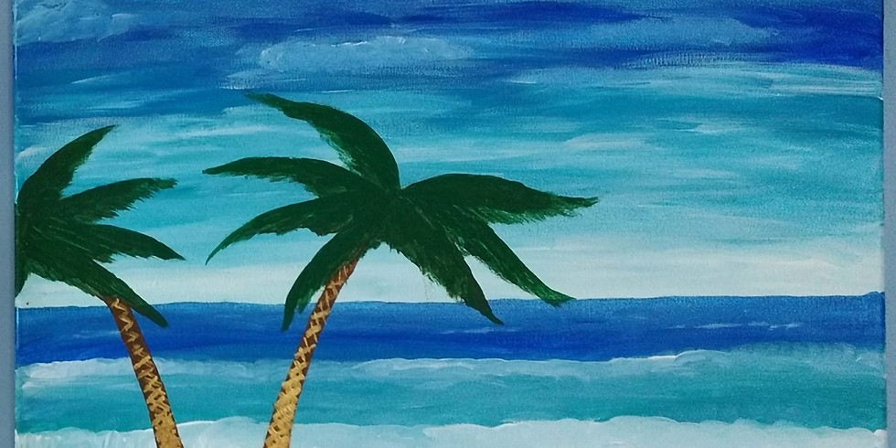 Tropical Paradise Painting Class