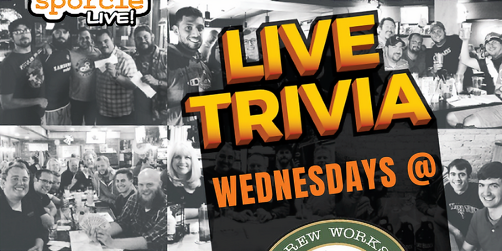 Trivia Nights every Wednesday at Brew Works