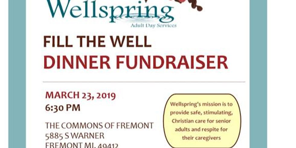 Wellspring FILL the WELL Dinner Fundraiser