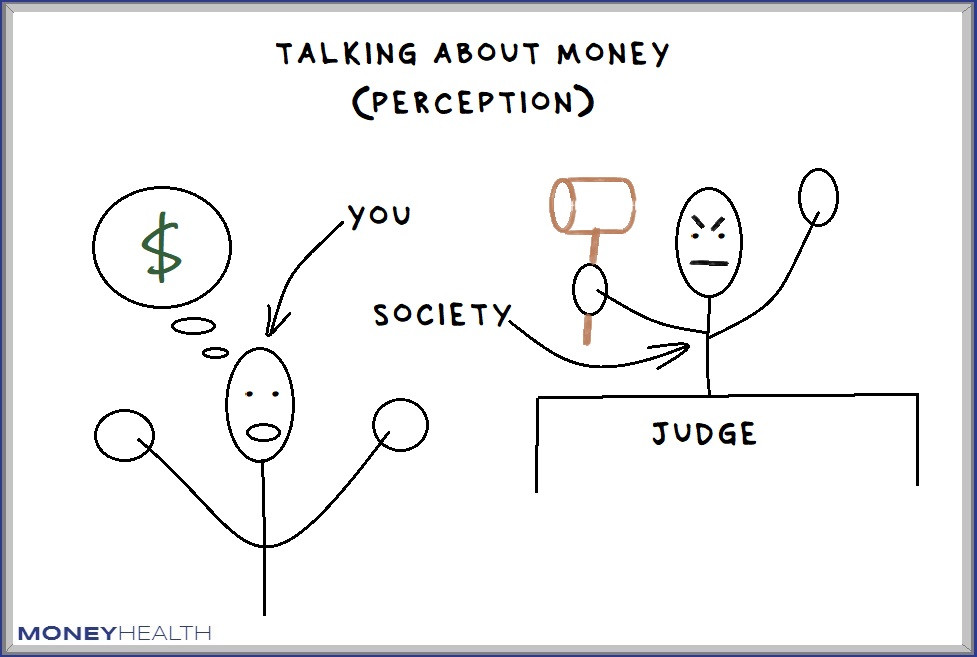 talking about money makes us afraid of being judged