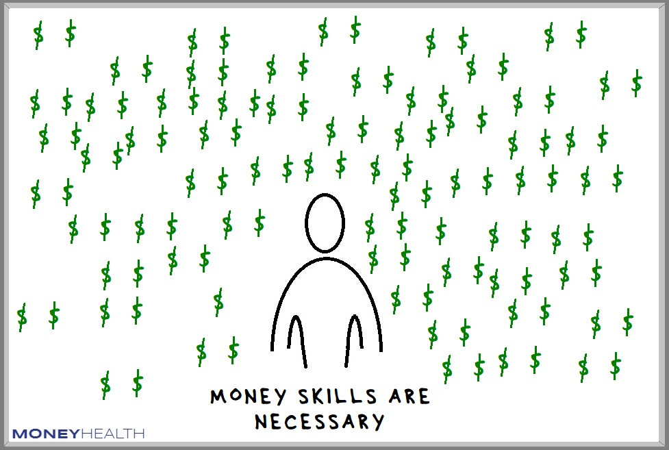money skills are necessary because money is all around us