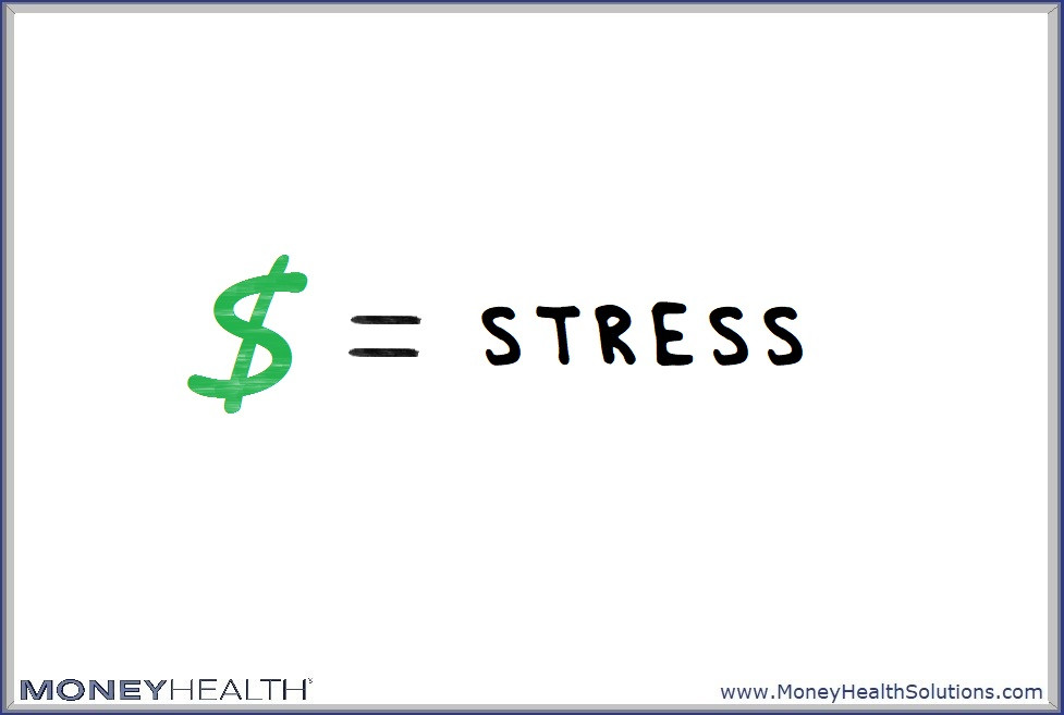money is stressful and triggers emotional flooding