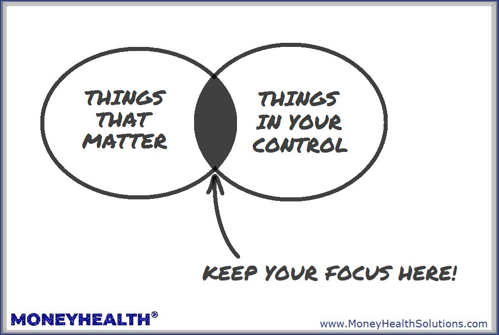 keep your focus on things that matter and things you can control