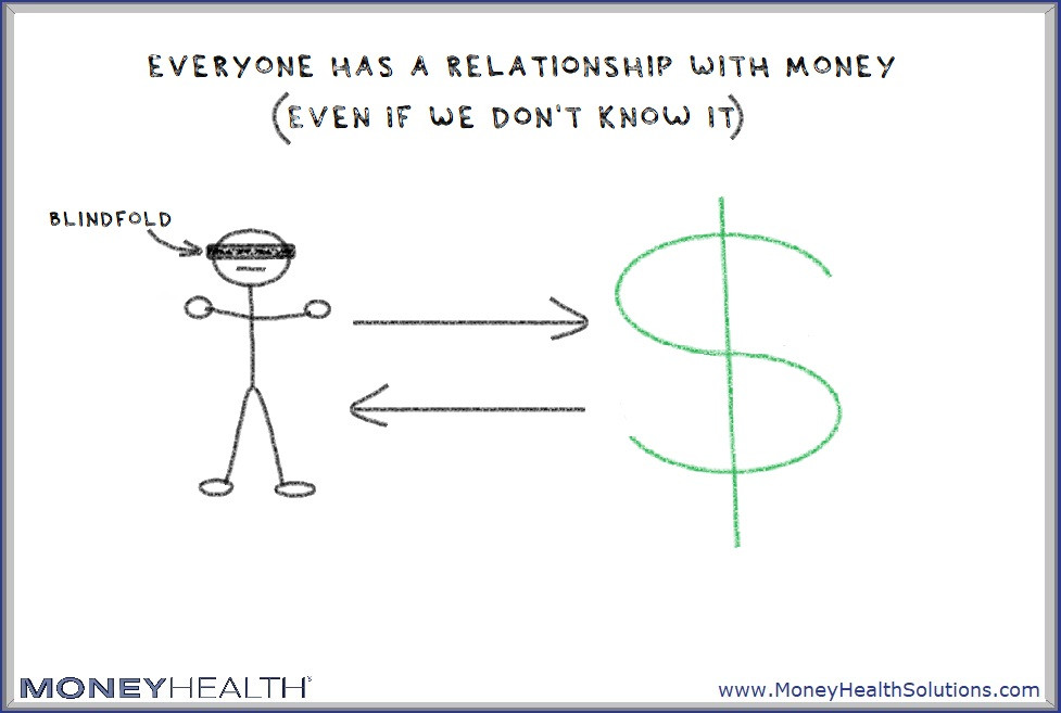 we don't know we have a relationship with money