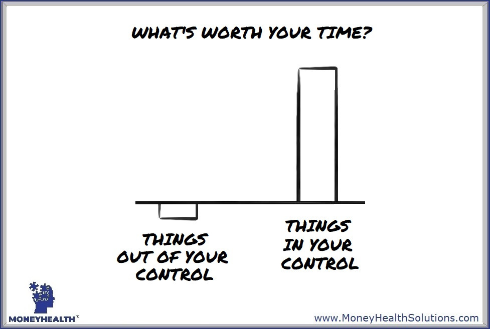 don't waste your time on things that are outside your control