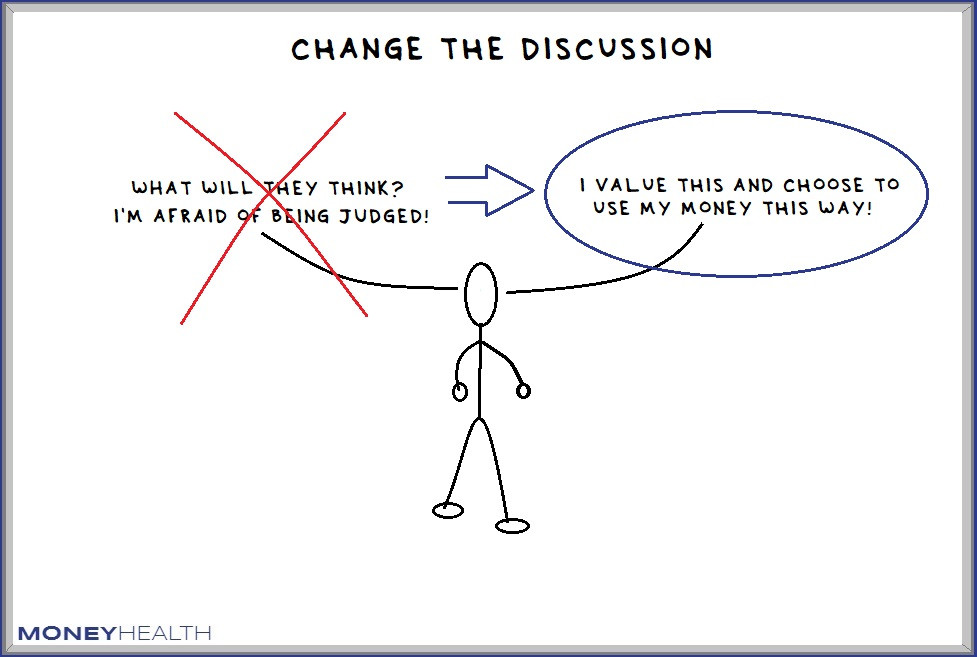 change the discussion