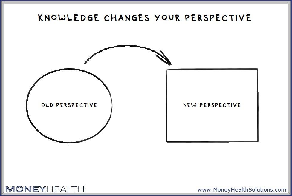 knowledge about last time experiences can change your perspective