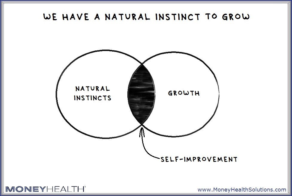 we have a natural instinct toward self-improvement