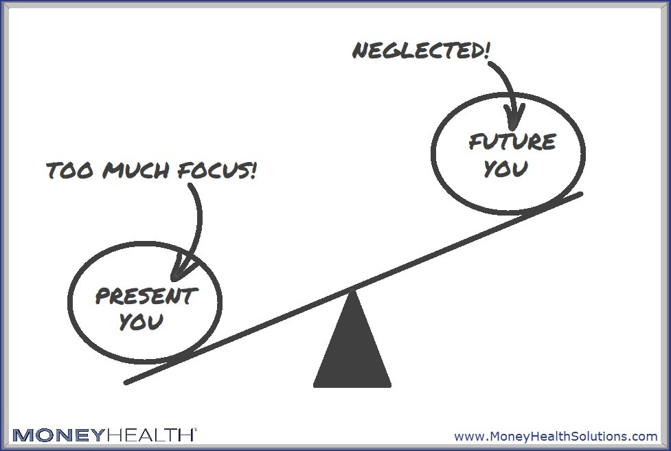 focusing too much on the present puts future you in jeopardy