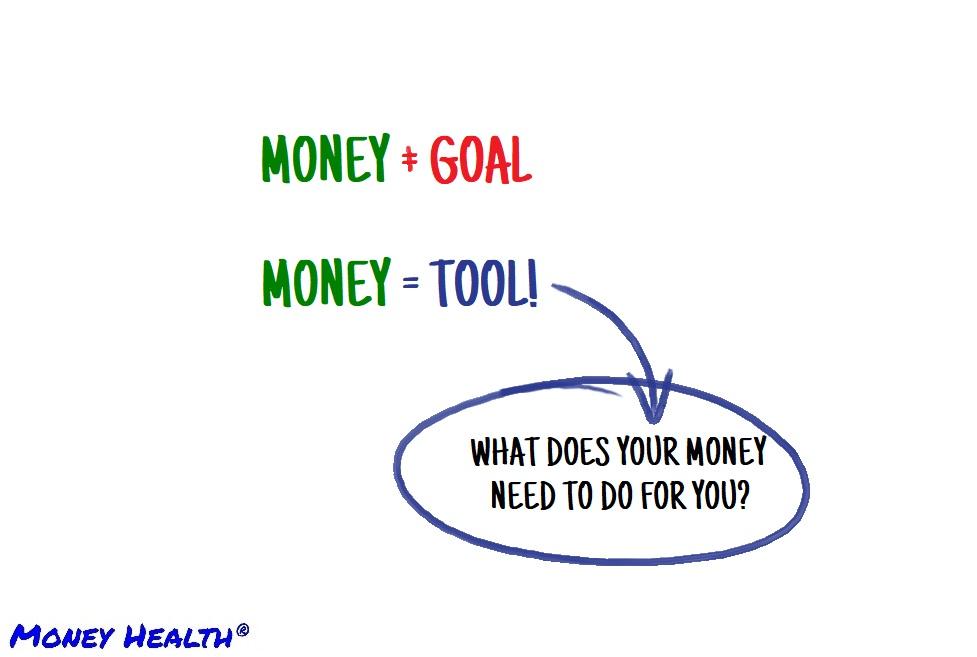 money is a tool, not a goal