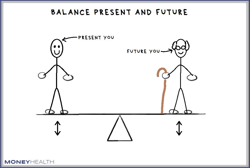 balance present and future you