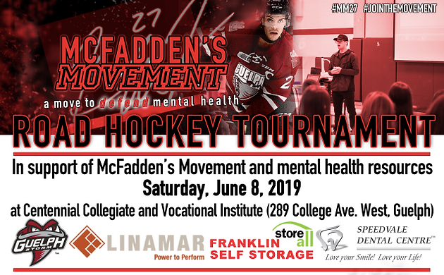 3rd Annual Mm27 Road Hockey Tournament To Be Held On June 8th