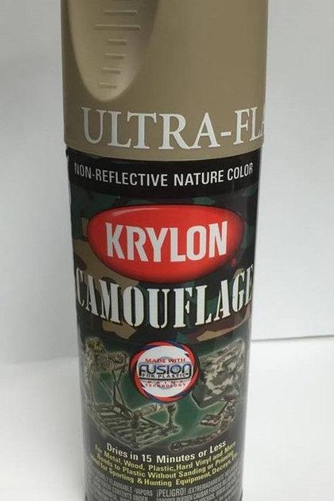 Krylon Camouflage Paint - Khaki