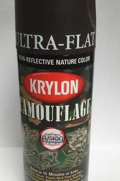 Krylon Camouflage Paint - Brown