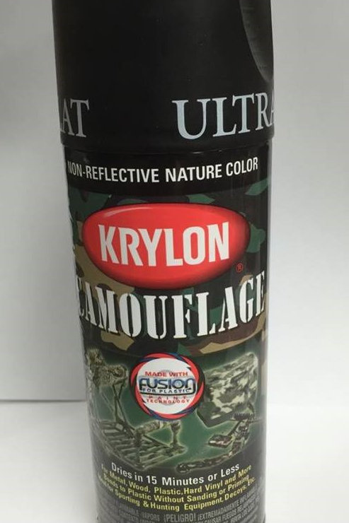 Krylon Camouflage Paint - Black