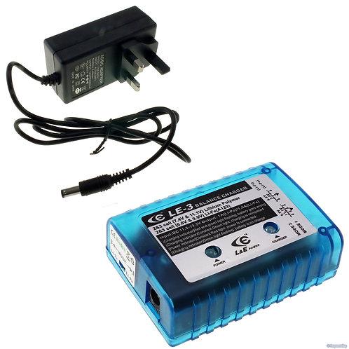 1000mA & 1500mA Li-po/Li-Fe charger
