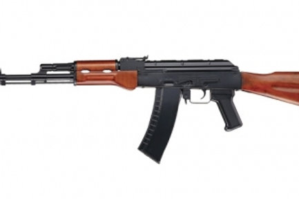 ICS AK 74 Real Wood Stock and Foregrip Airsoft Gun