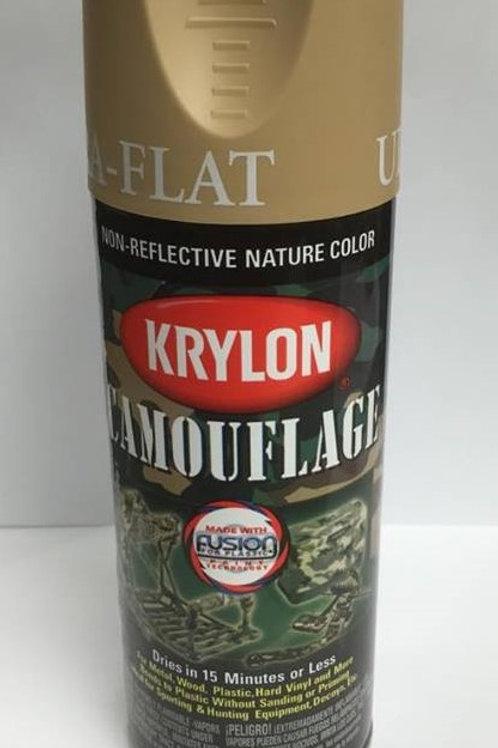 Krylon Camouflage Paint - Sand