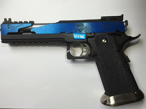WE Custom Hi-Capa IREX GBB (6 Inch - Blue - Type-C