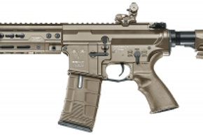 ICS (Metal)(Tan) CXP HOG Rear Wired Airsoft Gun AE