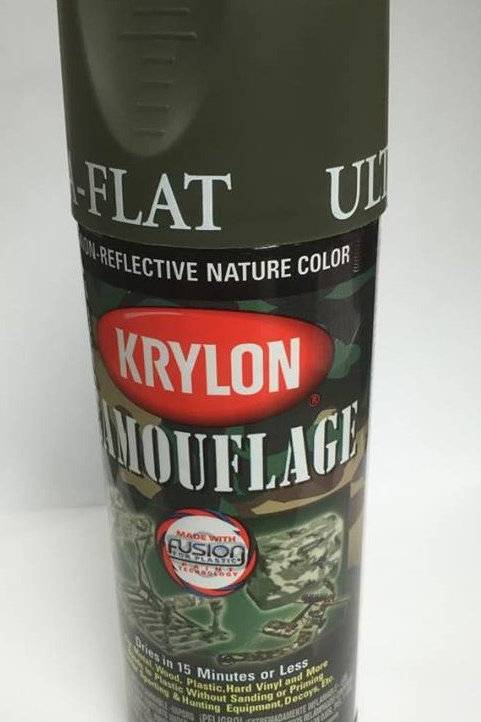 Krylon Camouflage Paint - Olive