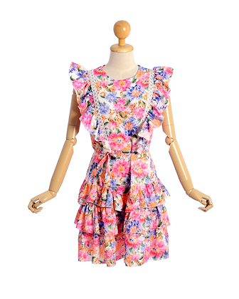 A Brilliant Bouquet Mini Dress