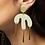 Thumbnail: Shock of Grey Megamelt Earrings in Sage Green