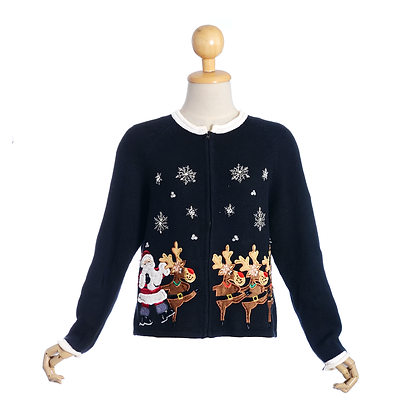 Dancing Deer Vintage Cardigan