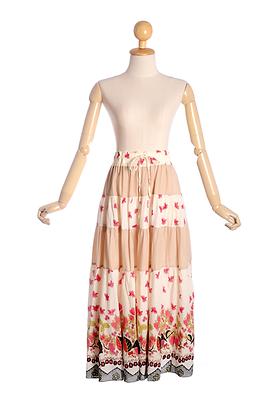 Pretty In Patchwork Vintage Skirt
