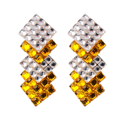 Glitter & Gold Earrings
