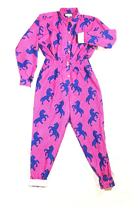 You're Only Gorgeous Pink Pony Jumpsuit