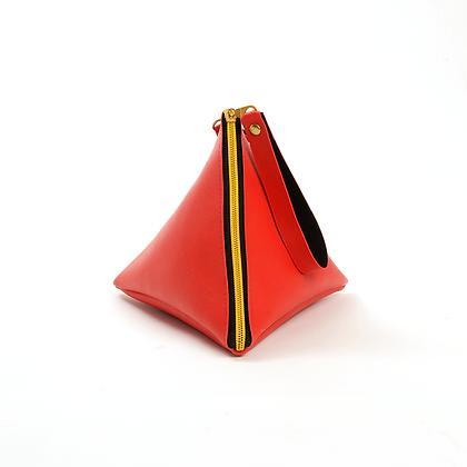 Red Pyramid Bag