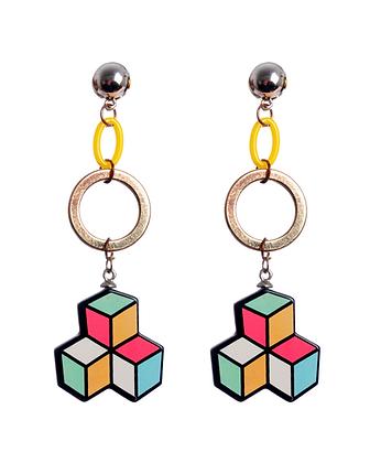 Tetris Earrings
