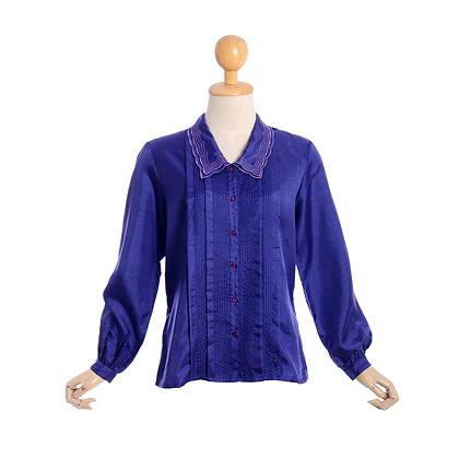 Vibrant Violet Vintage Blouse