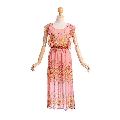 Wildflower Meadows Vintage Dress