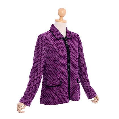 Electric Purple Vintage Dress