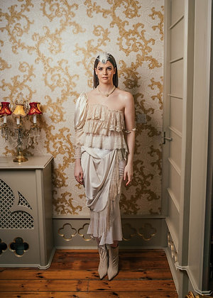 Laoise Carey Victorian Style Draped Skirt