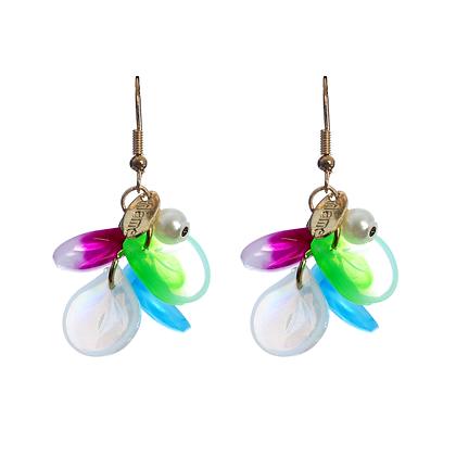 Disco Petal Earrings