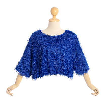 Disco Blue Knit Jumper