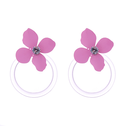 Modern Mayflower Earrings